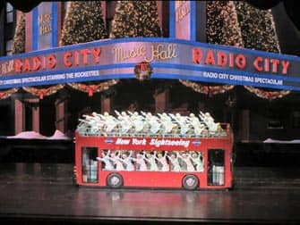 Radio City Christmas Spectacular Bus New York