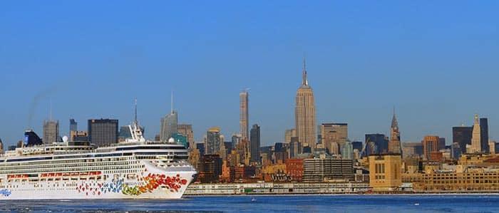Transfer zwischen Manhattan und den Häfen in New York