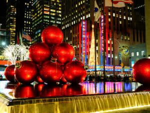 Weihnachtszeit in New York
