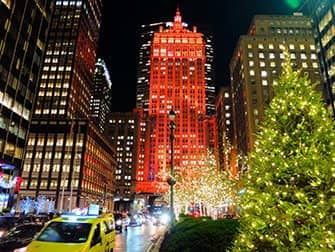 Weihnachtszeit in New York - Dekorationen