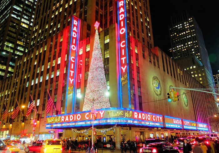 Weihnachtszeit in New York - Radio City Music Hall