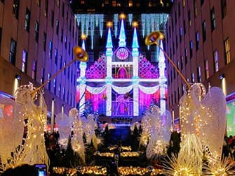 Weihnachtszeit in New York - Saks Fifth Avenue