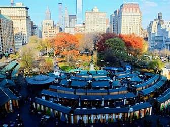 Weihnachtszeit in New York - Union Square Weihnachtsmarkt