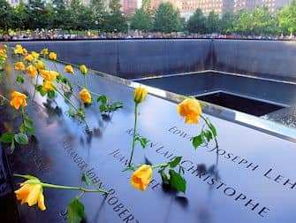 9/11 Memorial am Ground Zero - Rosen