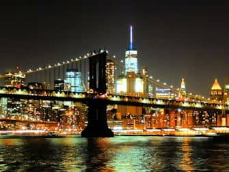 Abendliche Bootstour mit Büfett in New York (2,5 Stunden) - Manhattan Skyline Bridge