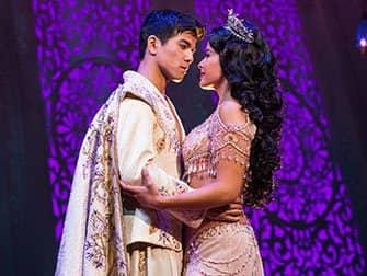 Aladdin am Broadway Tickets - Aladdin und Jasmin