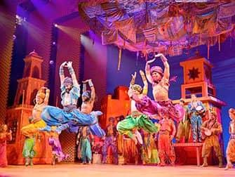 Aladdin am Broadway Tickets - Arabische Nächte