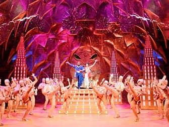 Aladdin am Broadway Tickets - Dschinni und Aladdin