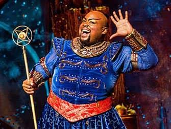 Aladdin am Broadway Tickets - Dschinni