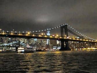Bateaux Bootstour mit Abendessen in New York - Aussicht