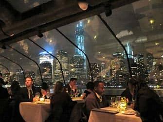 Bateaux Bootstour mit Abendessen in New York - Gäste