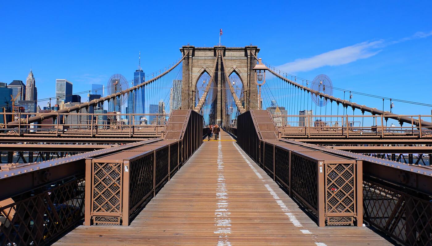 Wie deutsch ist New York? - Brooklyn Bridge New York City