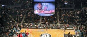 Brooklyn Nets Spielfeld