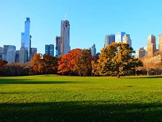 Central Park - Sheep Meadow im Herbst