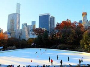 Central Park - Eislaufen am Wollman Rink