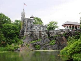 Central Park In New York Belvedere Castle