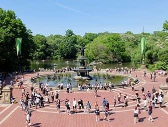 Central Park in New York - Bethesda Fountain
