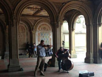 Central Park in New York - Bethesda Terrace