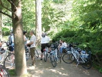 Central Park in New York - Fahrradfahren durch den Park