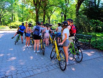 Central Park in New York - Fahrradtour