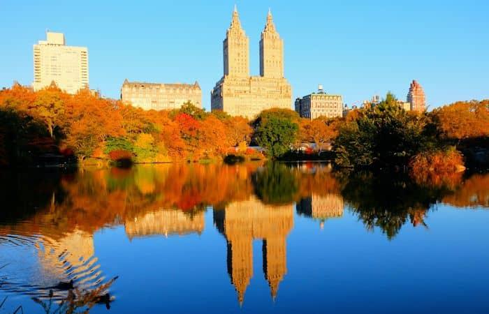 Central Park in New York - Herbstfarben