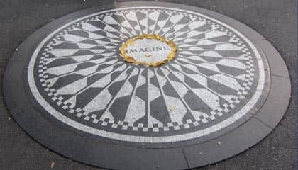 Central Park in New York - Strawberry Field