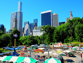 Central Park in New York - Victorian Gardens