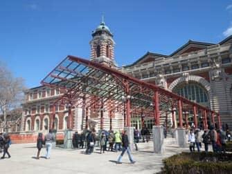 Ellis Island - Eingang zum Museum