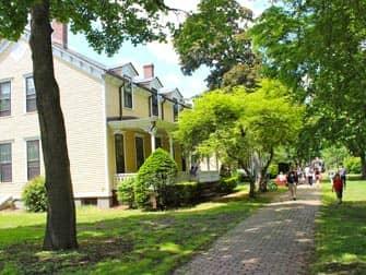Governors Island - Häuser