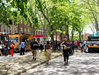 Governors Island - Markt
