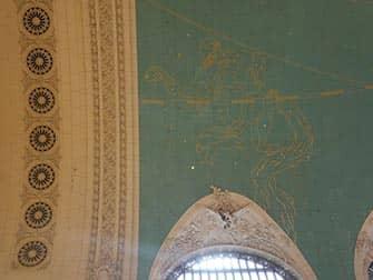 Grand Central Terminal - Sternenhimmel an der Decke