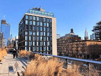 High Line Park in New York - Herbst