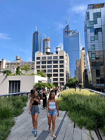 High Line Park in New York - Sommer