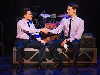 Jersey Boys in New York Tickets - Handschlag