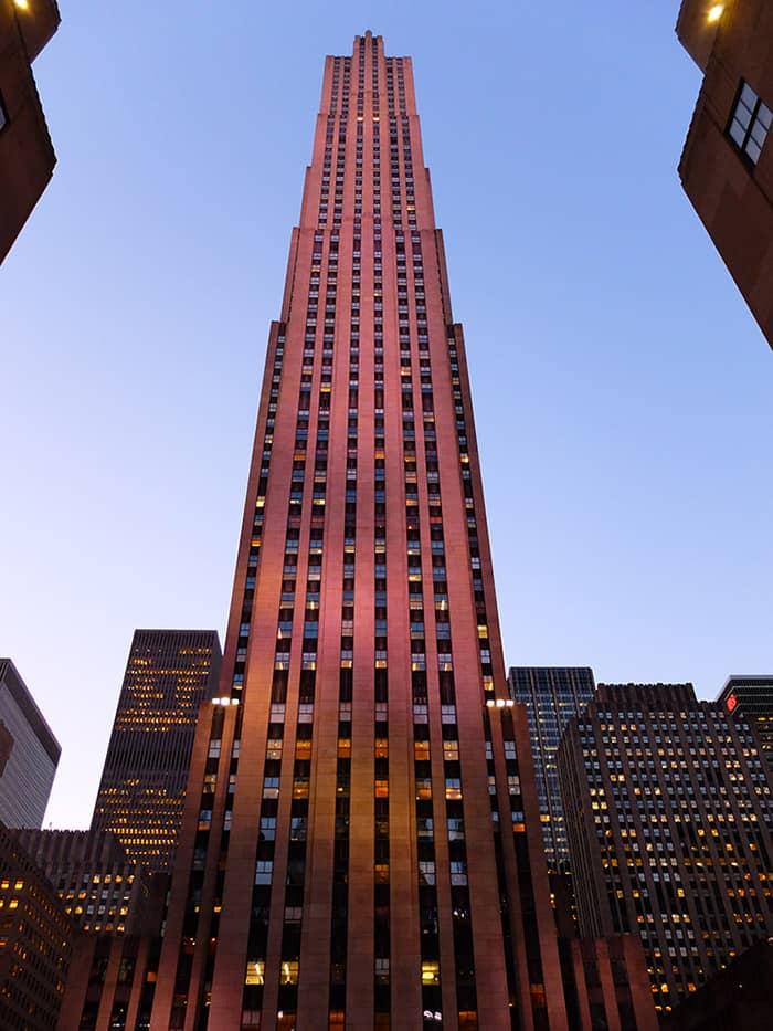 Rockefeller Center in New York - Comcast Gebäude