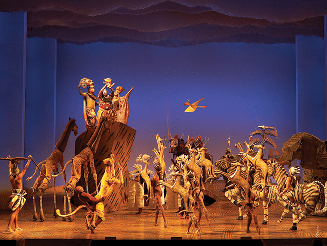 The Lion King am Broadway Tickets - The Circle of Life