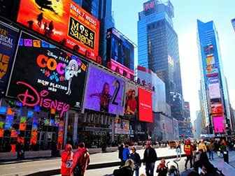 Times Square in New York - Disney Store