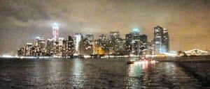 Abendliche Bootsfahrt