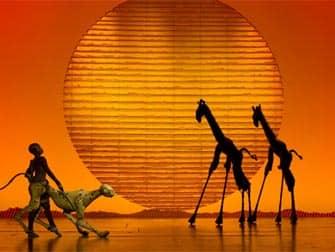 The Lion King am Broadway Tickets - Bühnenbild
