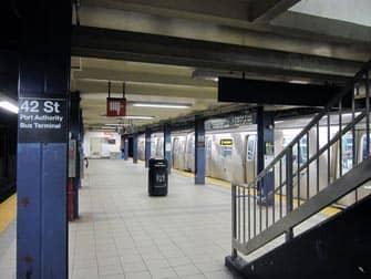 42nd Street U-Bahn Haltestelle