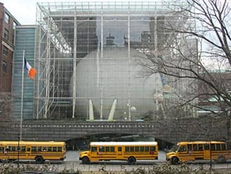 AMNH Rose Center for Earth and Space in New York