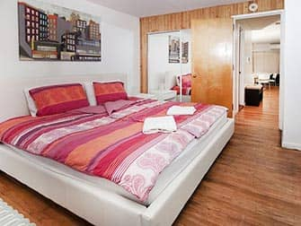 Apartments in NYC - Superior Times Square Apartments Schlafzimmer