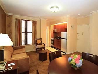 Apartments und Ferienwohnungen in New York - Radio City Apartments Interior