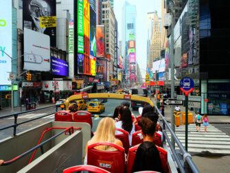 Big Bus in New York - Aussicht