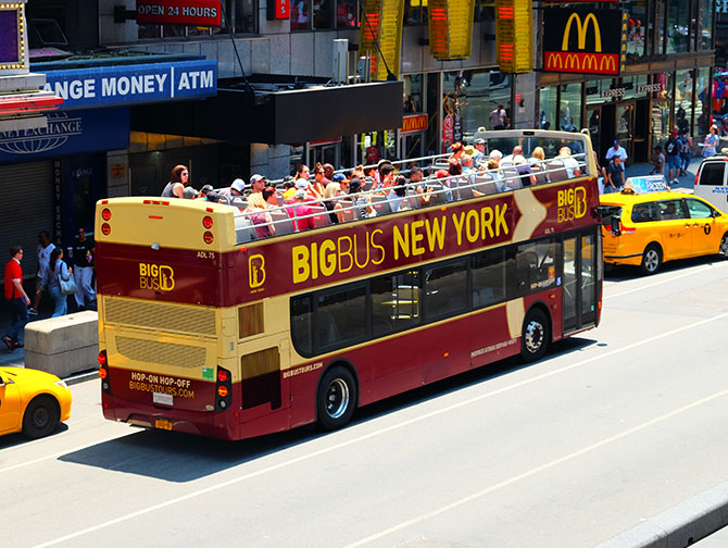 Big Bus in New York - Bus