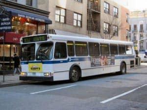 Bus in New York