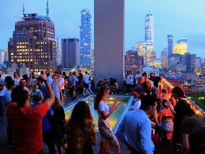 Die besten Rooftop Bars von New York - Jimmy
