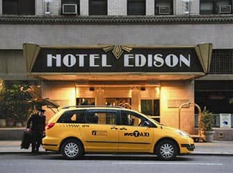 Edison Hotel in New York