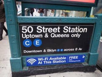 Eintritt Subway Stations New York