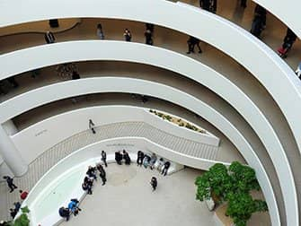 Guggenheim Museum in New York - Innenansicht